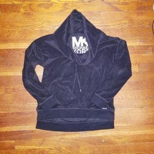 Michael Kors black velour top - size M!